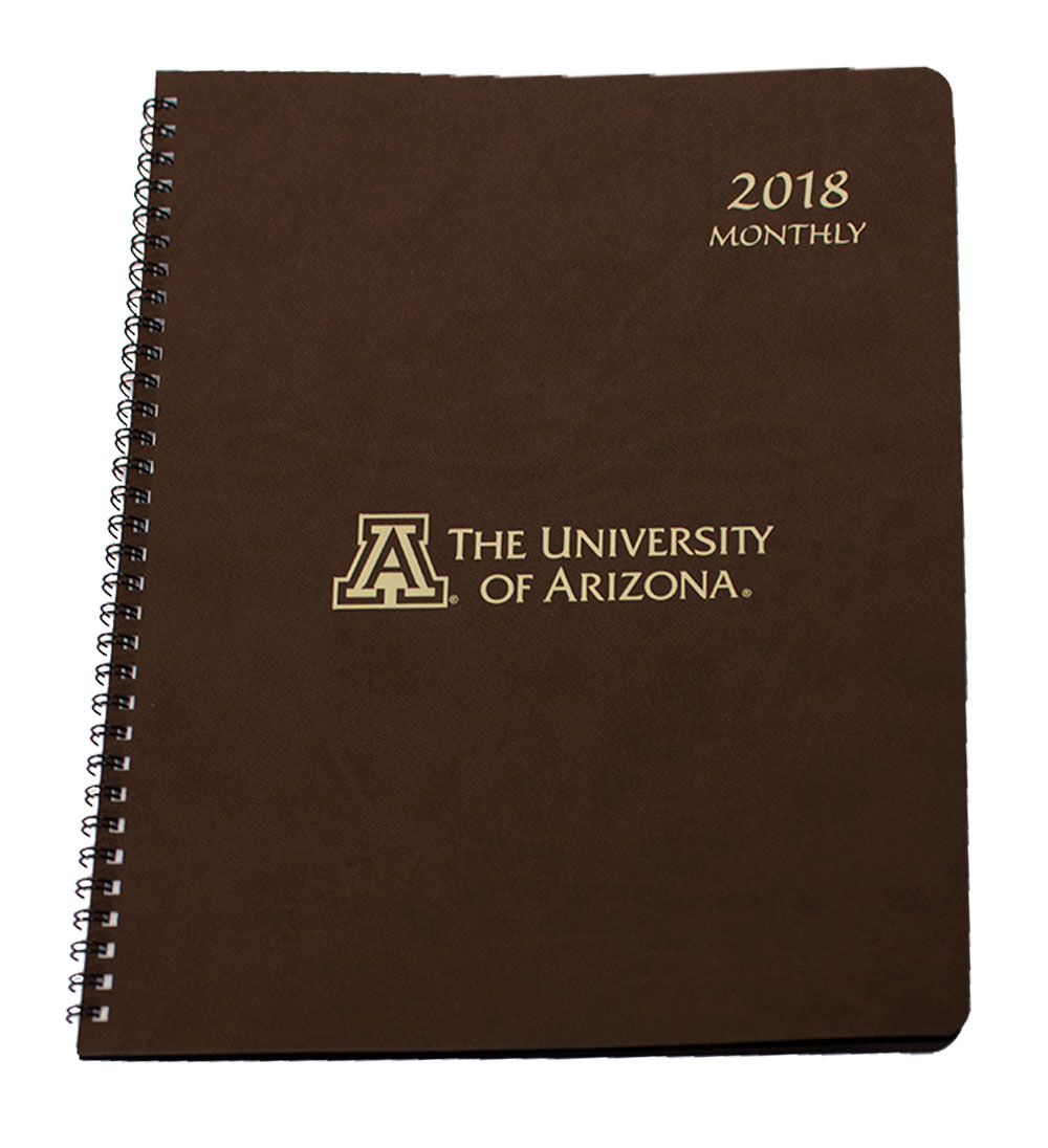 Cover Image For Payne Pub: Arizona Large 2018 Monthly Leatherette Planner