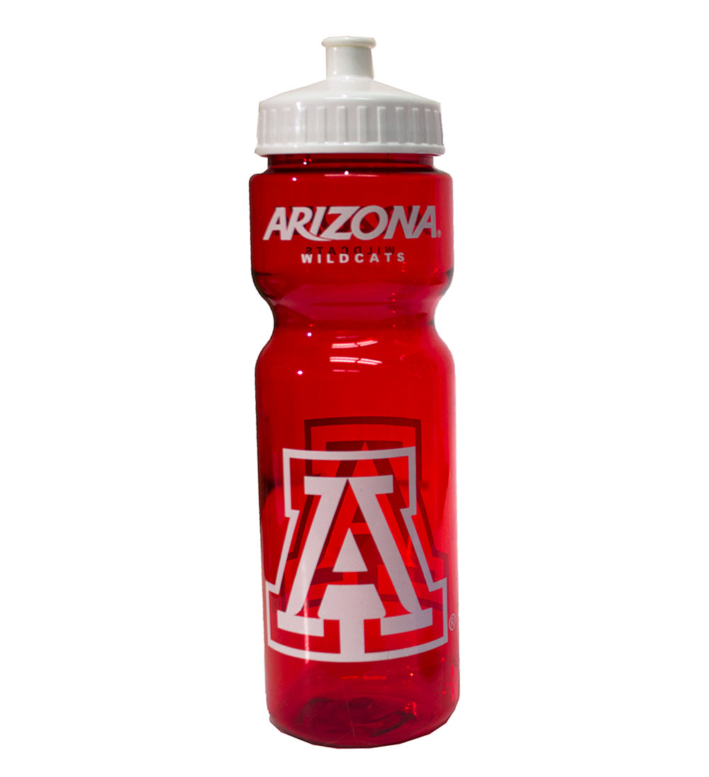 "Image For Arizona Wildcats Red ""A"" Bottle"