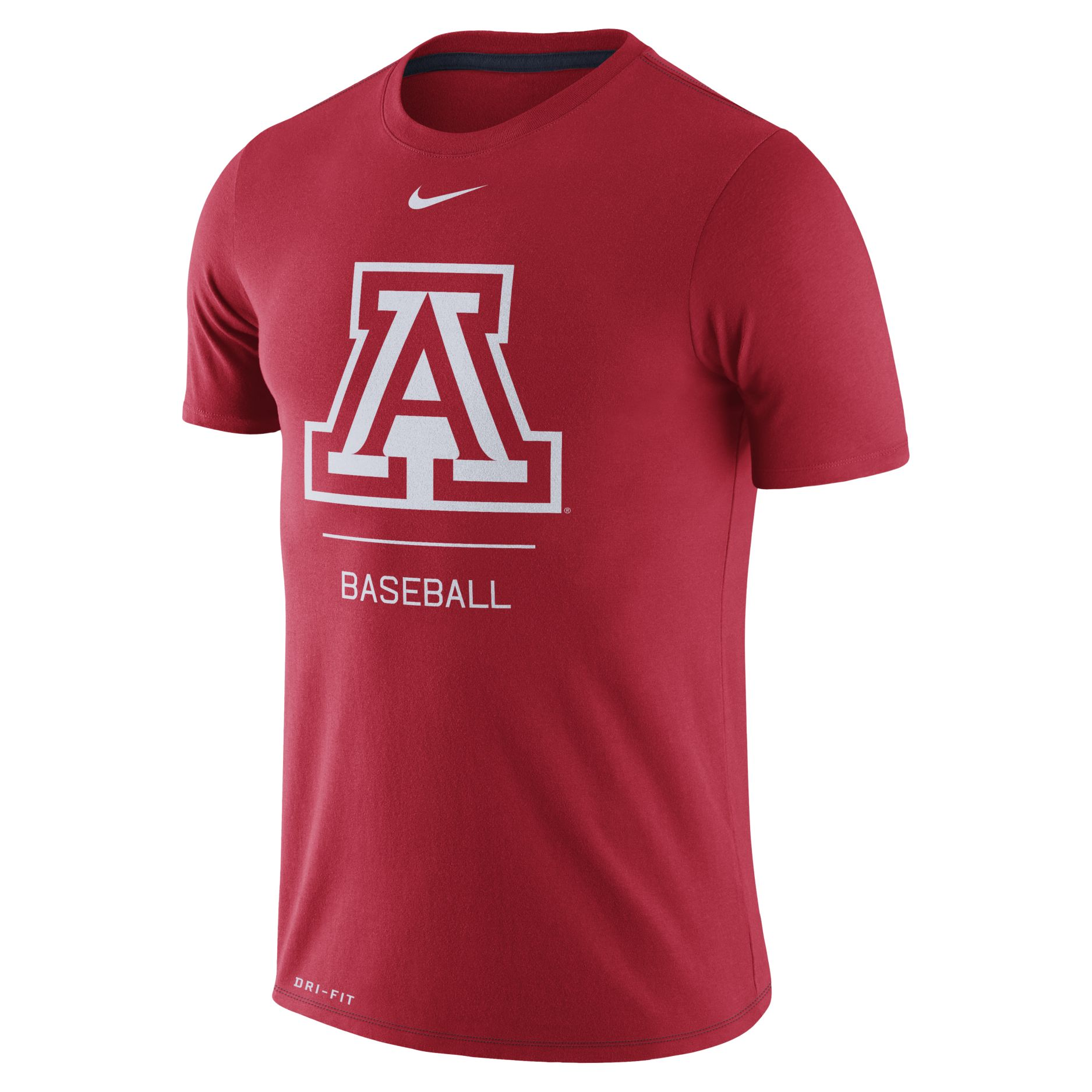 Cover Image For Nike: Arizona Wildcats Baseball Dugout Team Tee - Red