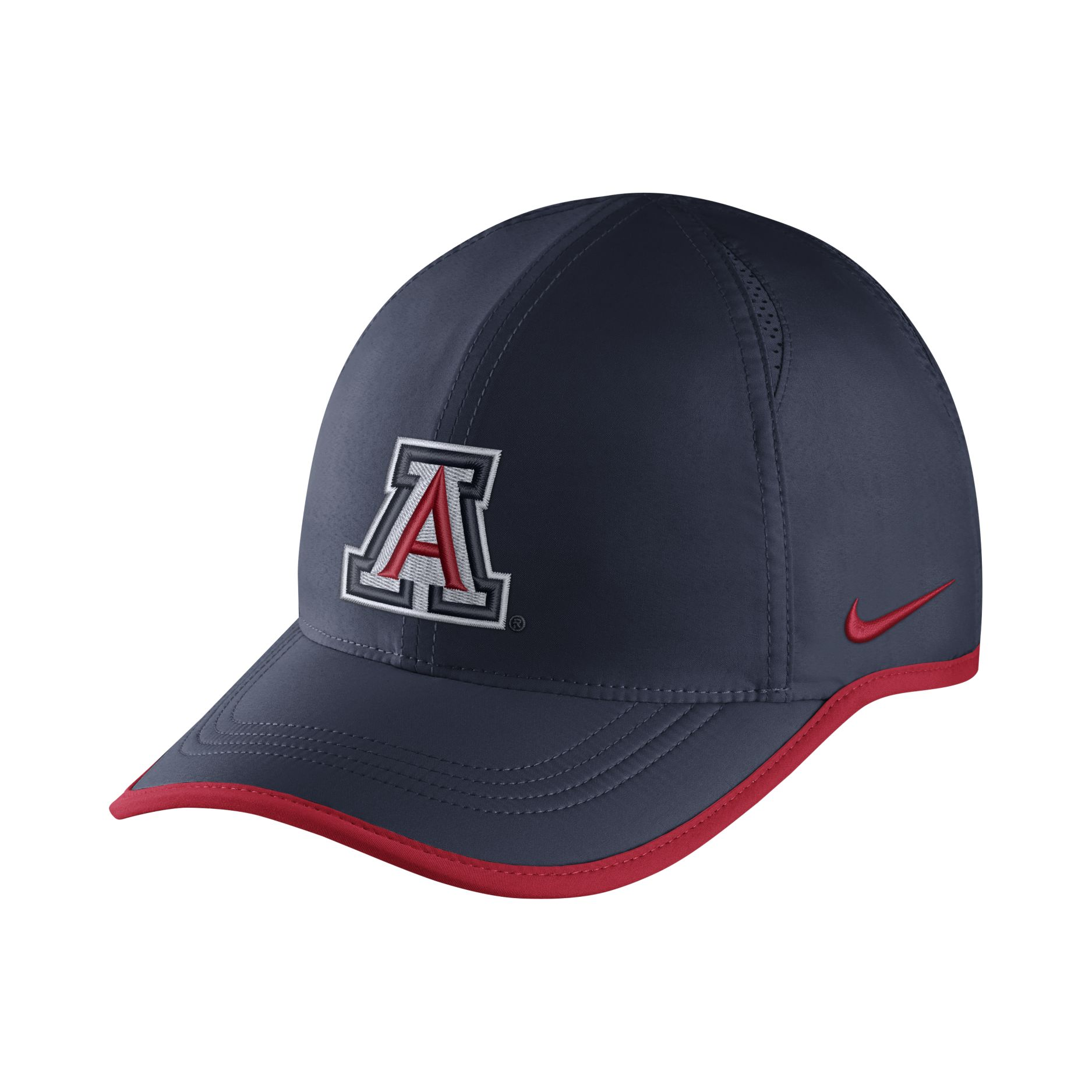 Image For Nike: Arizona Team Logo AeroBill Featherlight - Navy