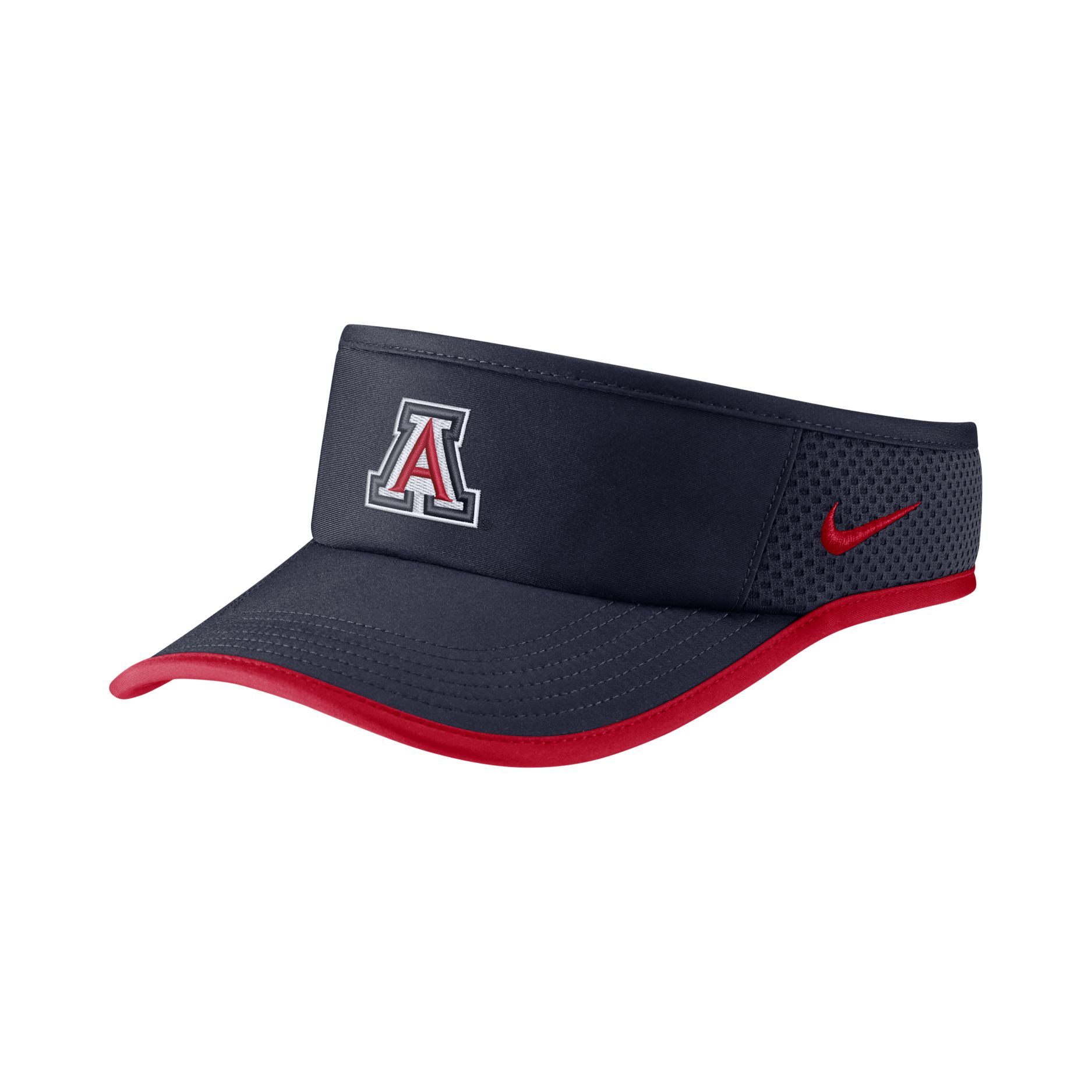 Image For Nike: Arizona Wildcats Dri-FIT Featherlight Visotr - Navy