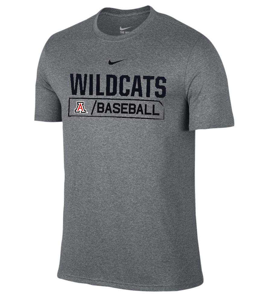 Image For Nike: Arizona WILDCATS Baseball Legend Dri-Fit-Grey Heather