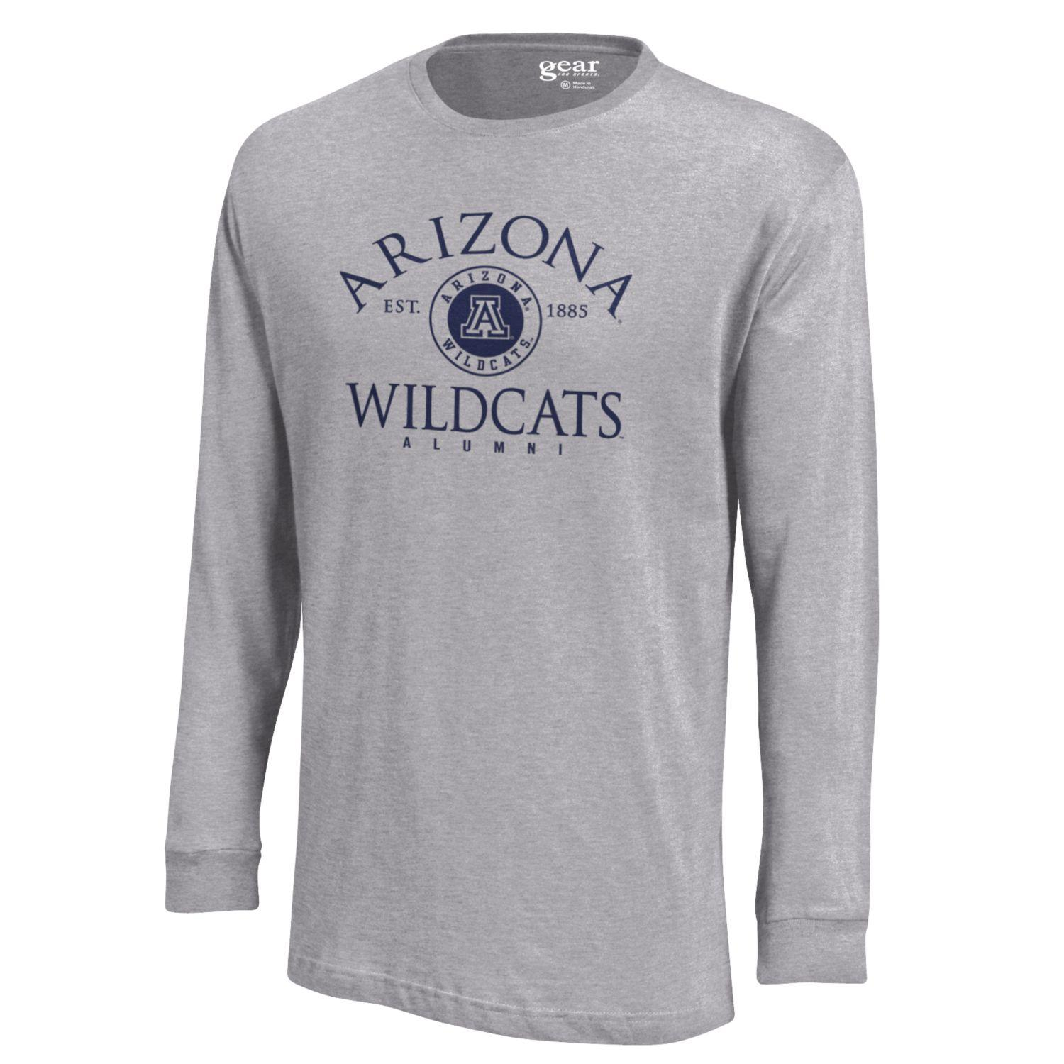Cover Image For Gear: Arizona Alumni Seal Long Sleeve Soft Tee - Oxford