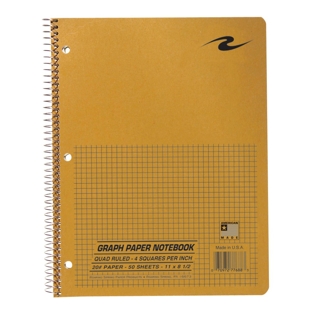 Image For Roaring Spring: Graph Paper Notebook