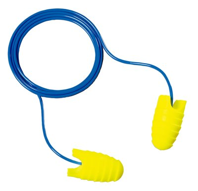 Image For E-A-Rsoft Grippers:  31 dB Corded Foam Earplugs