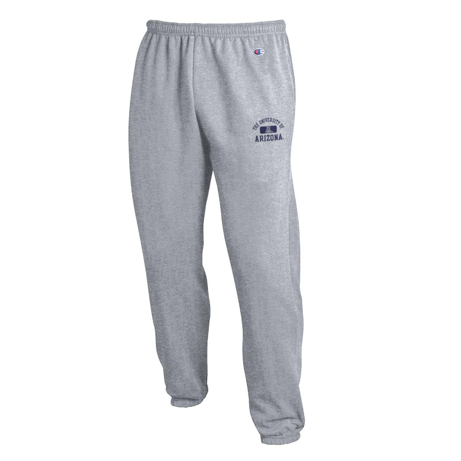 Cover Image For Champion: Univ of Arizona Eco Powerblend Pant-Heather Grey