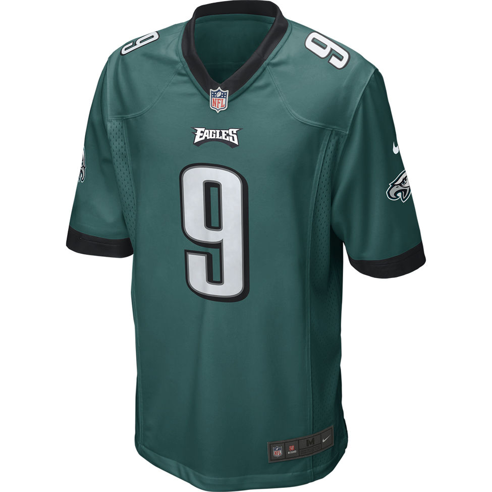 7101488bfd0 Nike Philadelphia Eagles Adult Nick Foles Game Jersey | University ...