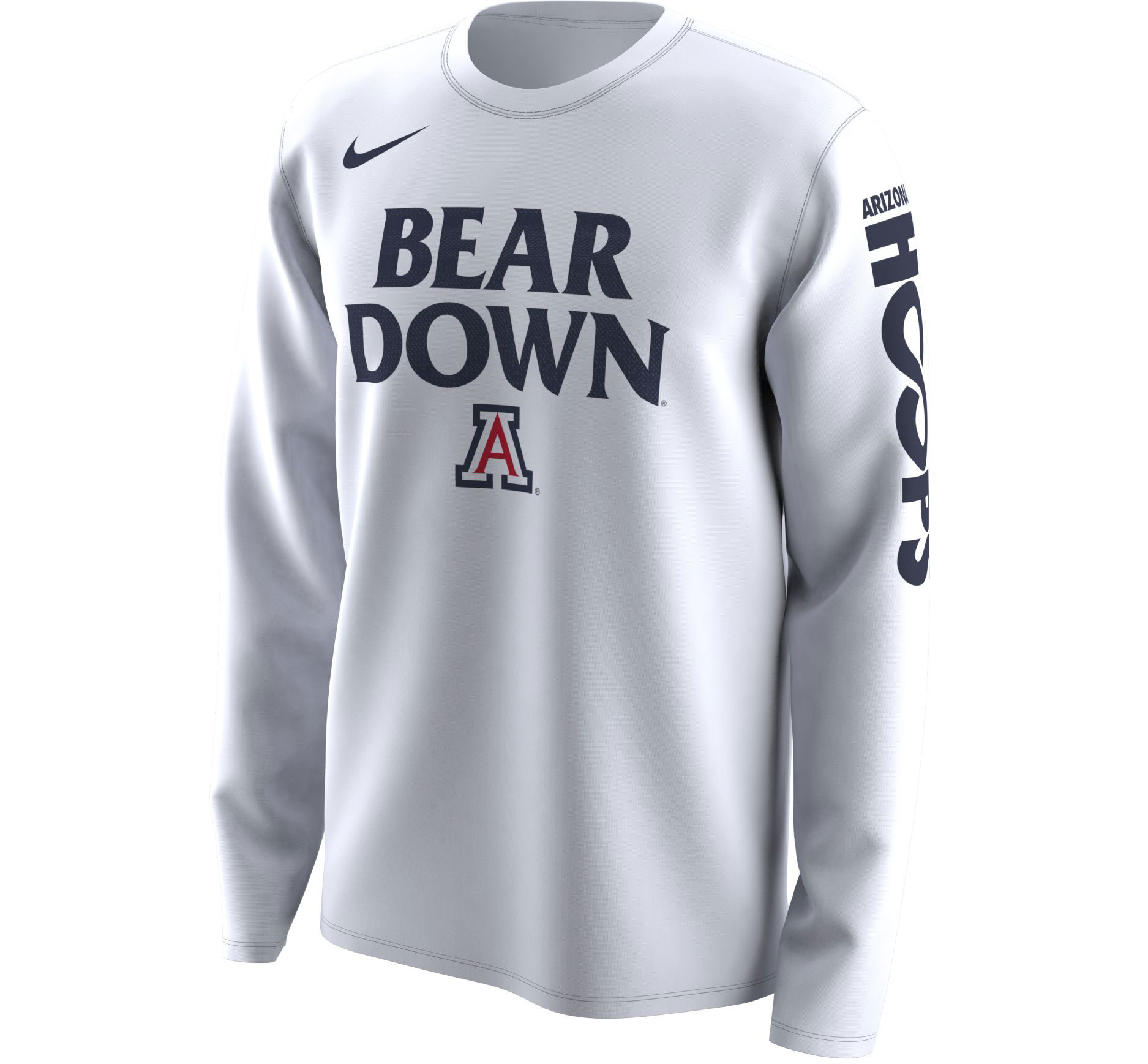 Image For 2018 Arizona NCAA Tournament March Madness Bench Long Sleeve