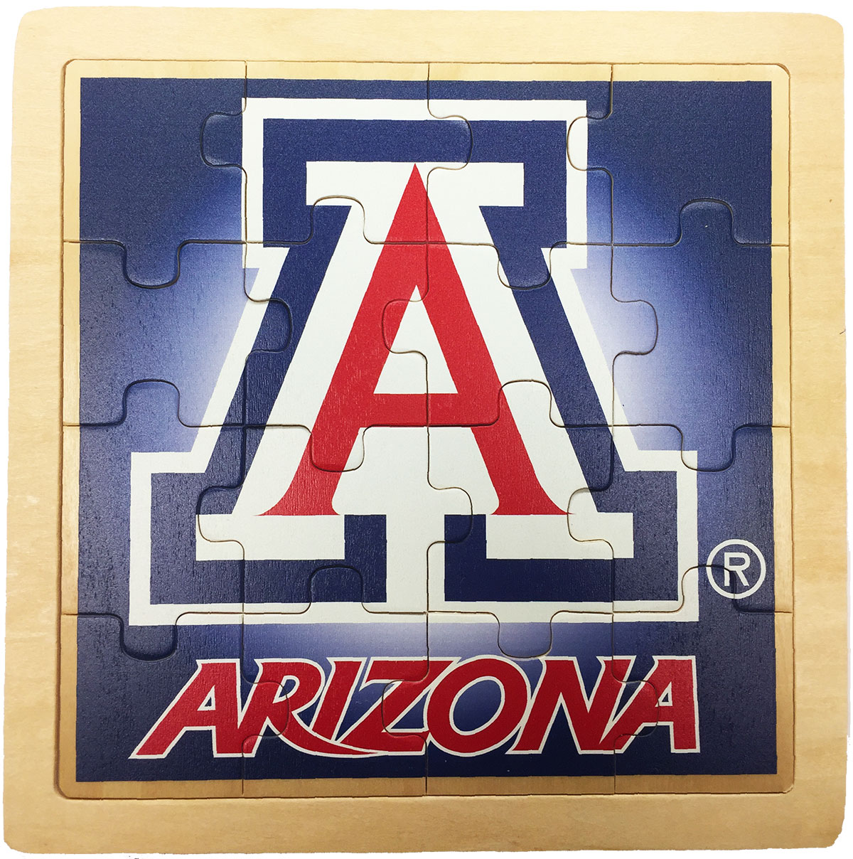 Image For Arizona Wildcats Team Logo Jigsaw Puzzle