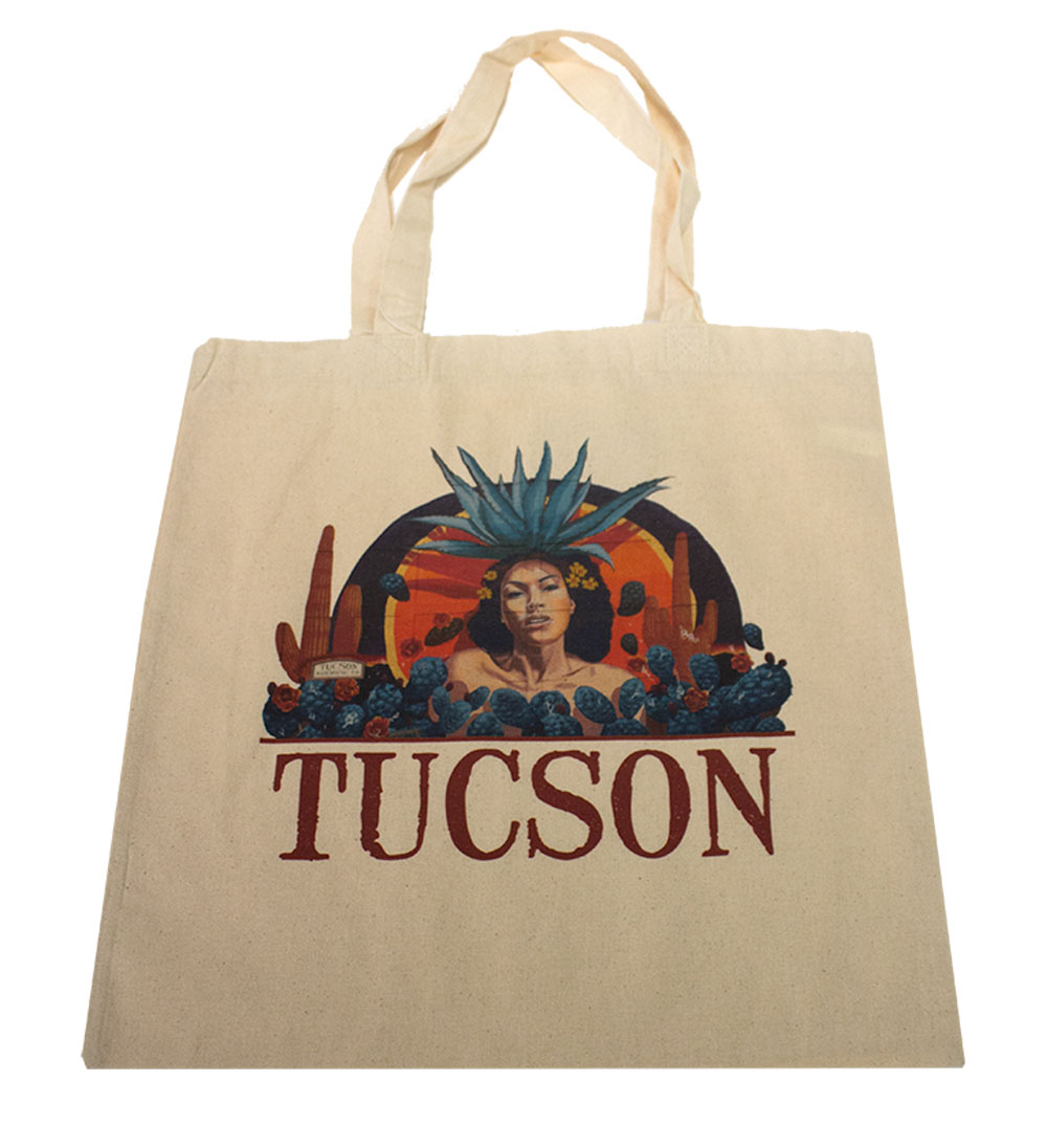 Image For Port Authority: Agave Goddess Tote Bag Natural