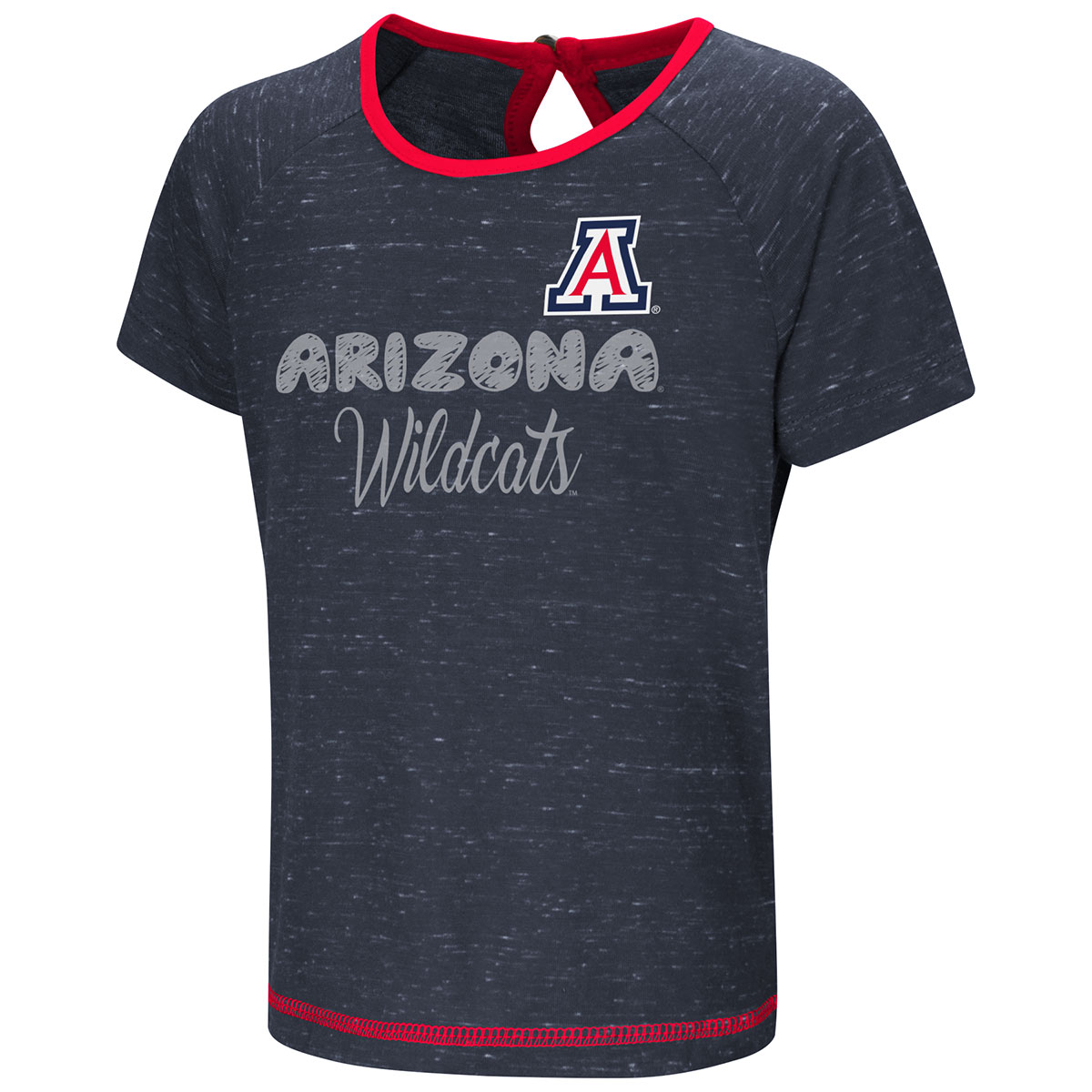 Image For Colosseum: Arizona Wildcats Toddler Girls Swimming Pool Tee