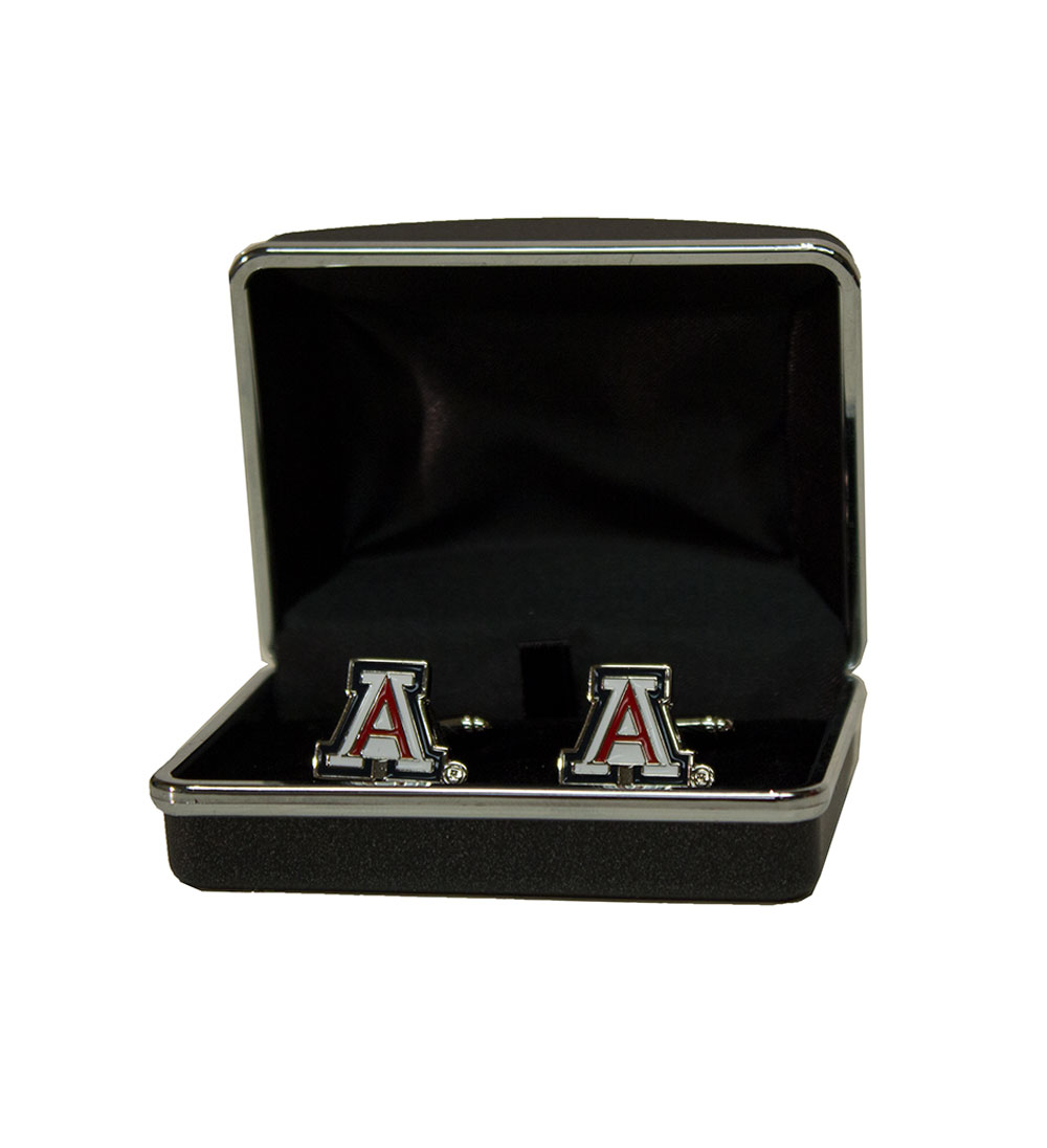 Image For CSI Collegiate: Arizona Team Logo Cuff Links