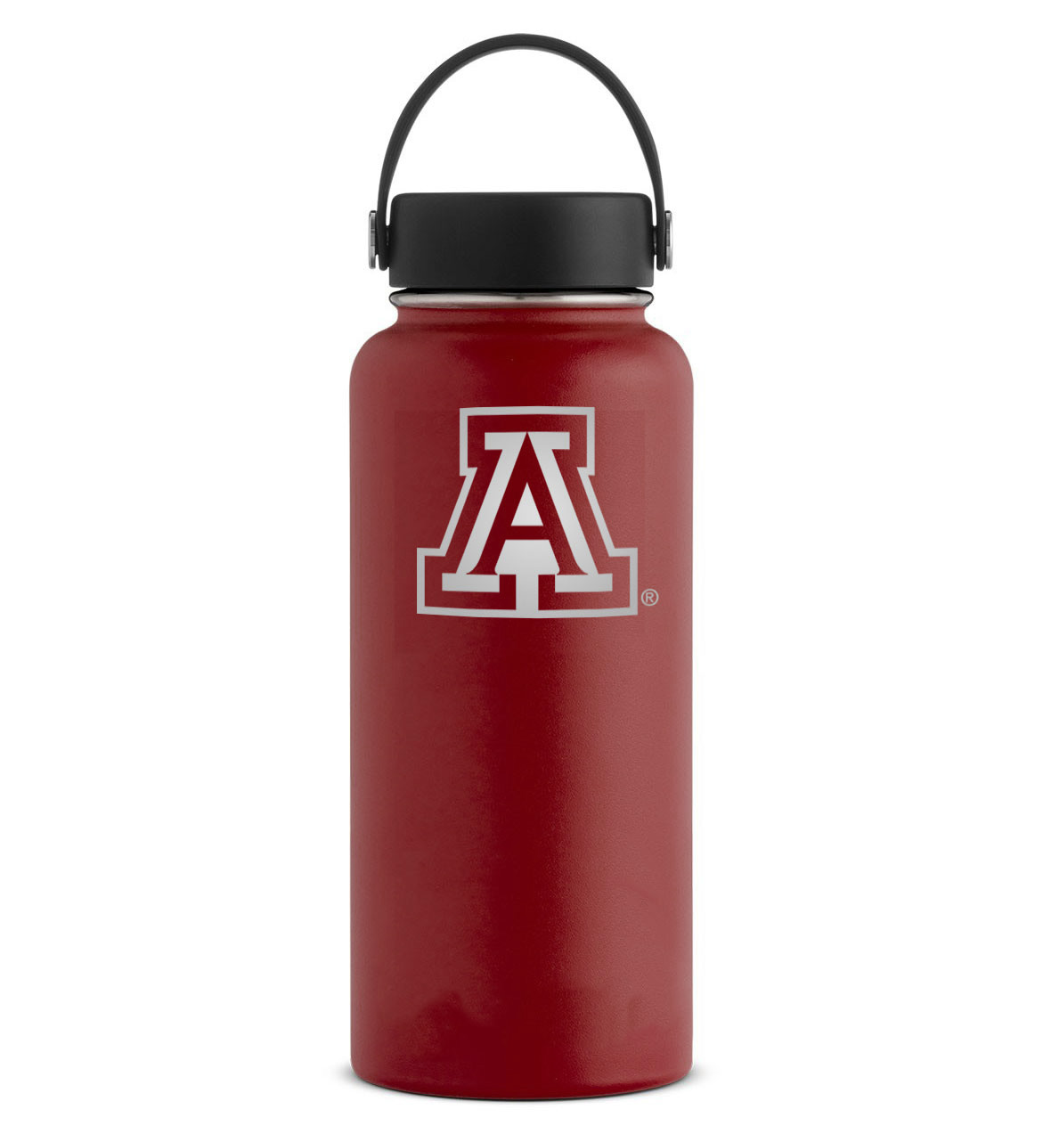 Image For Hydro Flask: Arizona Etched Team Logo Bottles