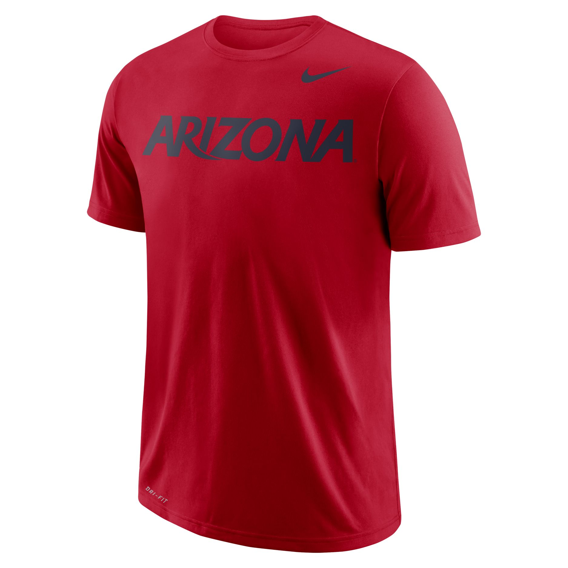 Cover Image For Nike: Arizona Wildcats School Wordmark Performance Tee - Red