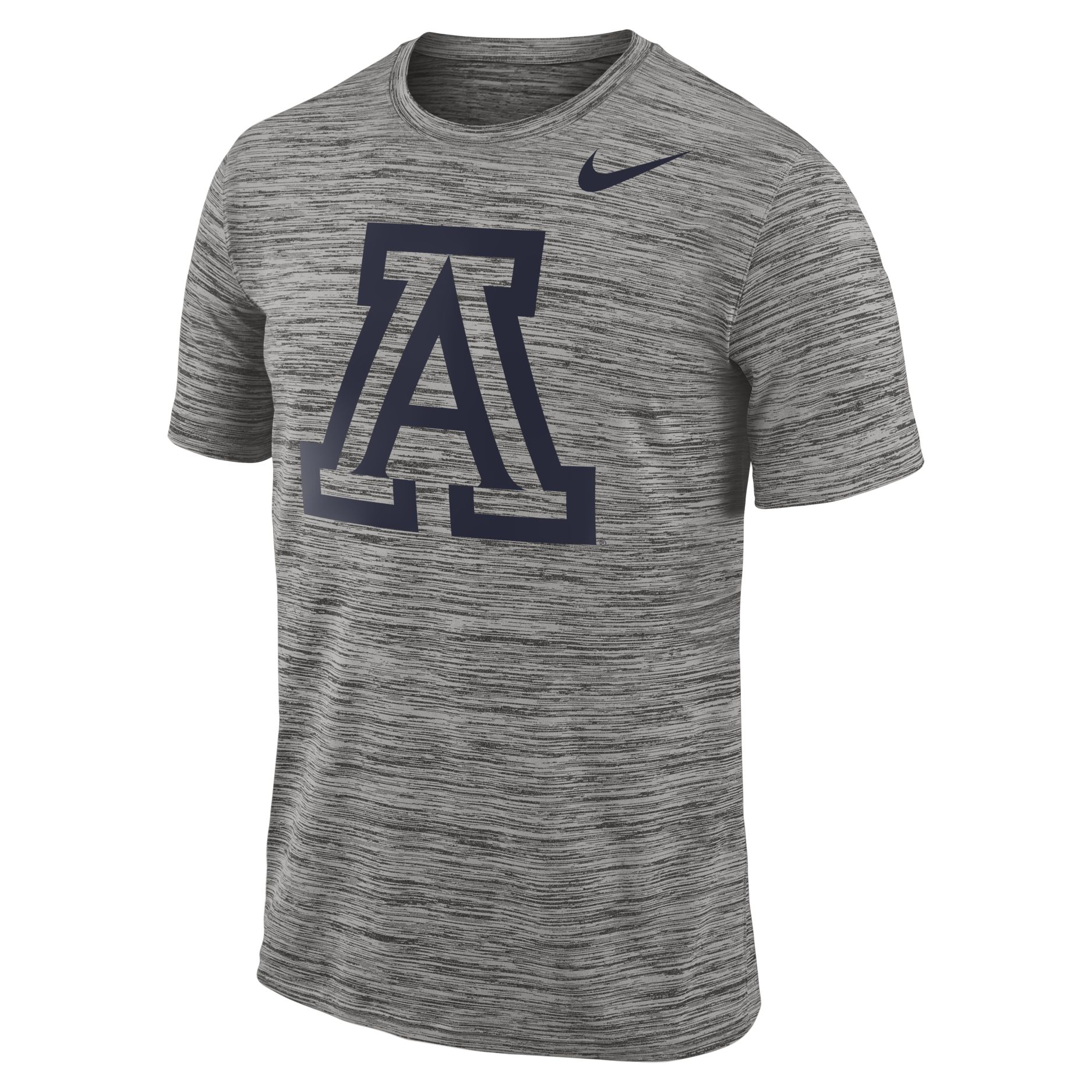Image For Nike: Arizona 2018 Player Travel Legend Performance Tee-Grey