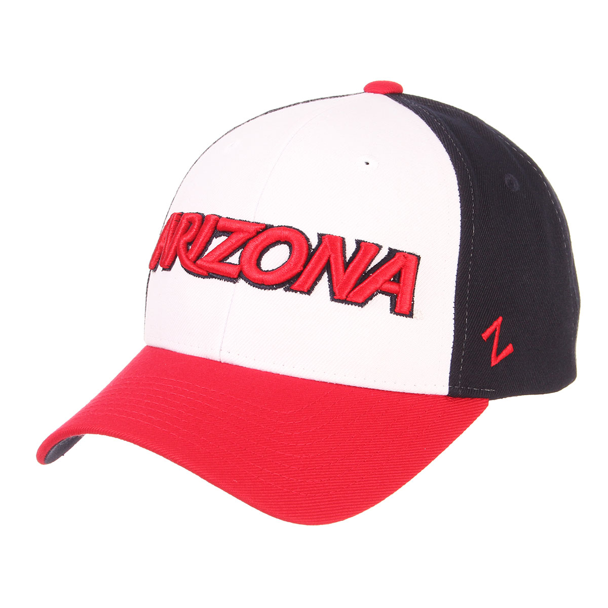 Image For Zephyr: Arizona 3 Tone Authentic Snapback Cap