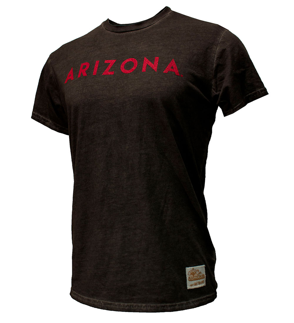 Image For Retro Brand: Arizona Oil Washed Black Tee