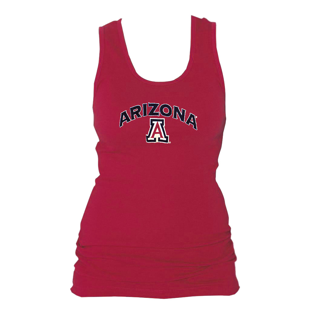 Image For Boxercraft: Arizona Women's Cotton Boyfriend Sleep Tank-Red