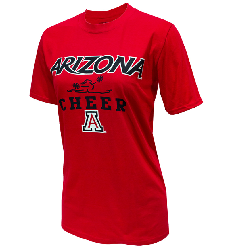 Image For CT Beat: Arizona Sport Cheer Red Tee