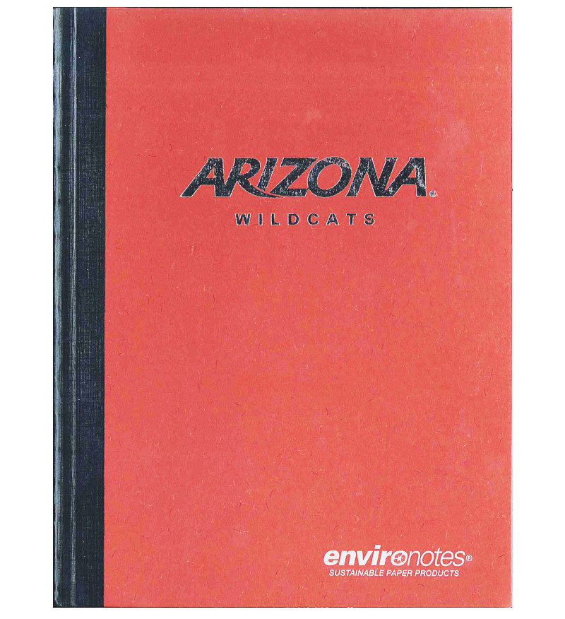 Image For EnviroNotes: Arizona Wildcats Composition Book