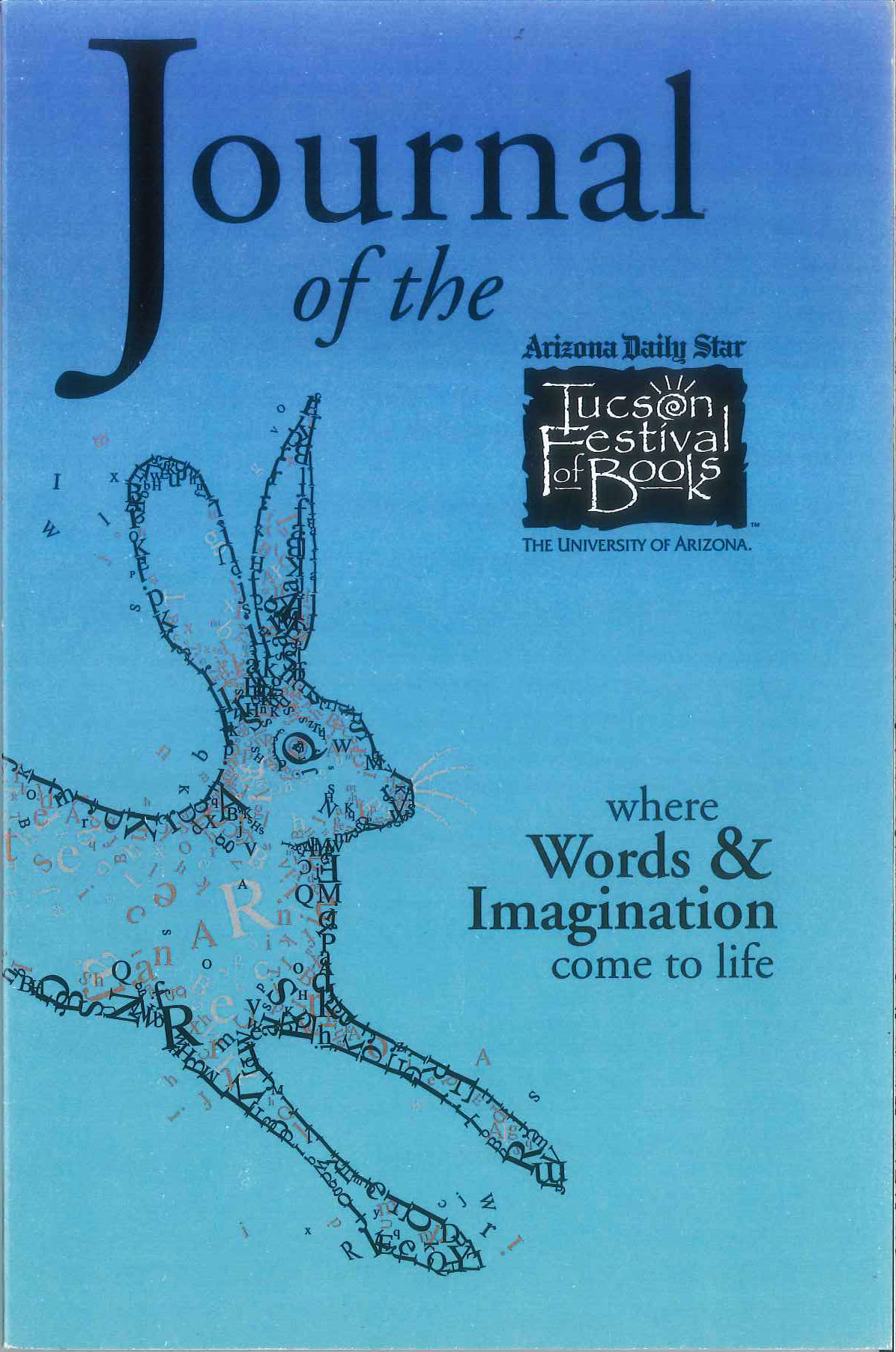 Image For Tucson Festival of Books Journal 2016