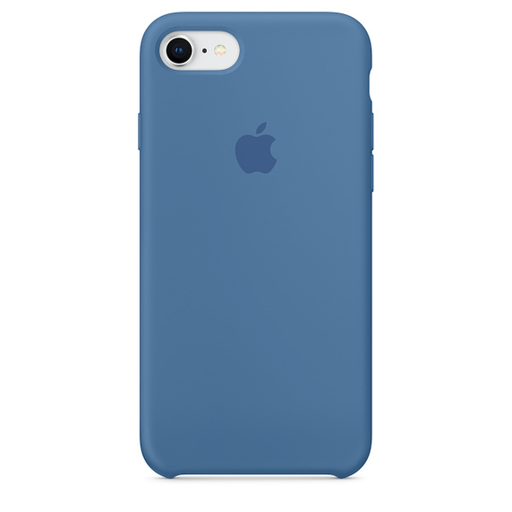 Image For iPhone 8 / 7 Silicone Case - Denim Blue
