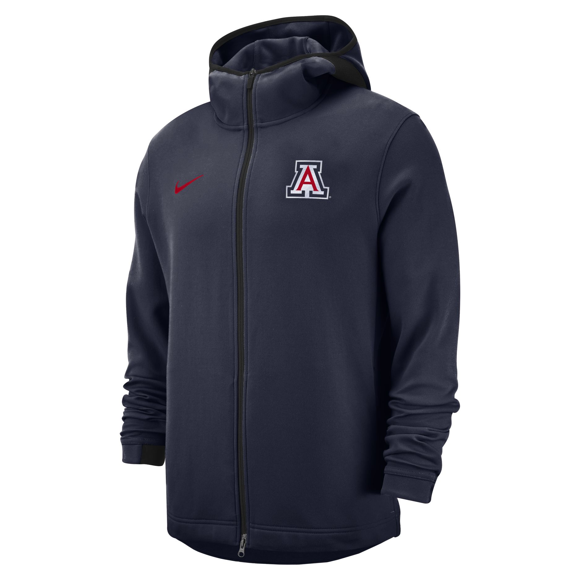 Image For Nike: Arizona Basketball Dri-FIT Showtime Full-Zip - Navy