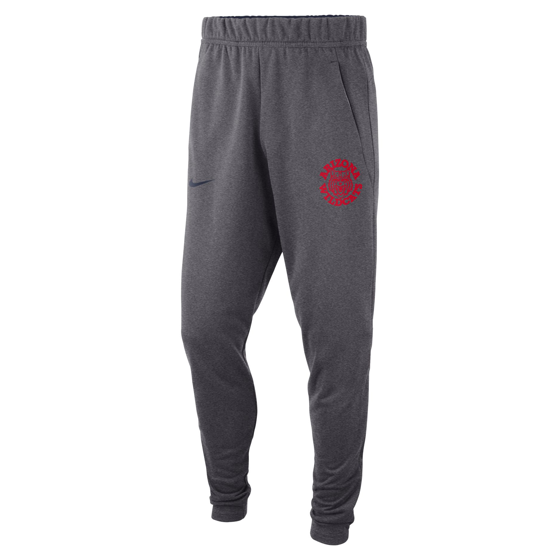 Image For Nike: Arizona Vault Wildcat Logo Fleece Pants - Charcoal