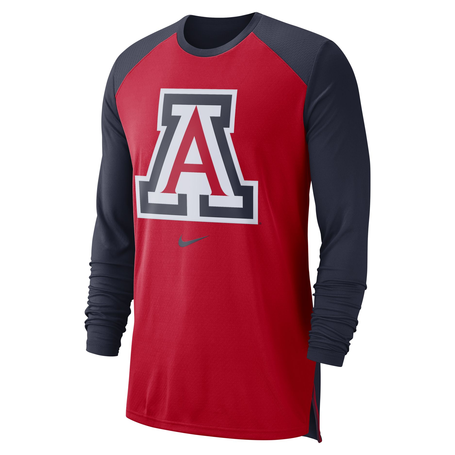 5a4a7ba30eb3 Image For Nike  Arizona On-Court Basketball Elite Performance Long Tee