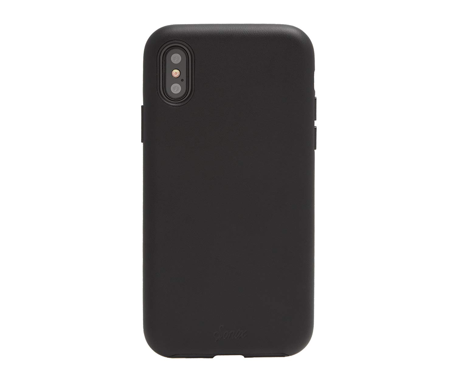 Image For Sonix Black Leather, iPhone X