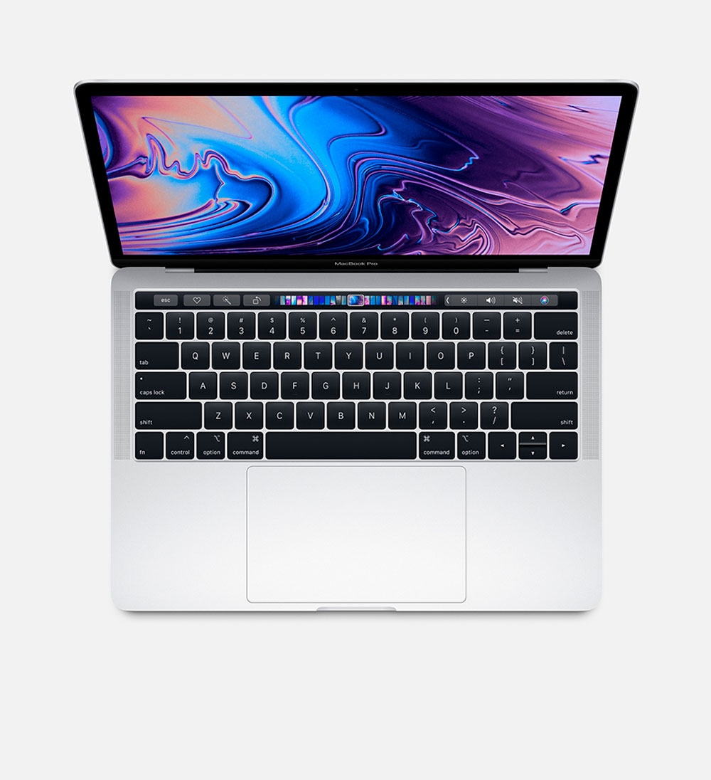 Image For MacBook Pro 13-inch i5 8 GB Memory 256GB Storage Silver