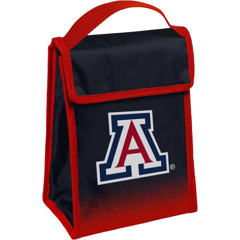 Image For Forever Collectibles: Arizona Team Logo Lunch Bag - Navy/Red