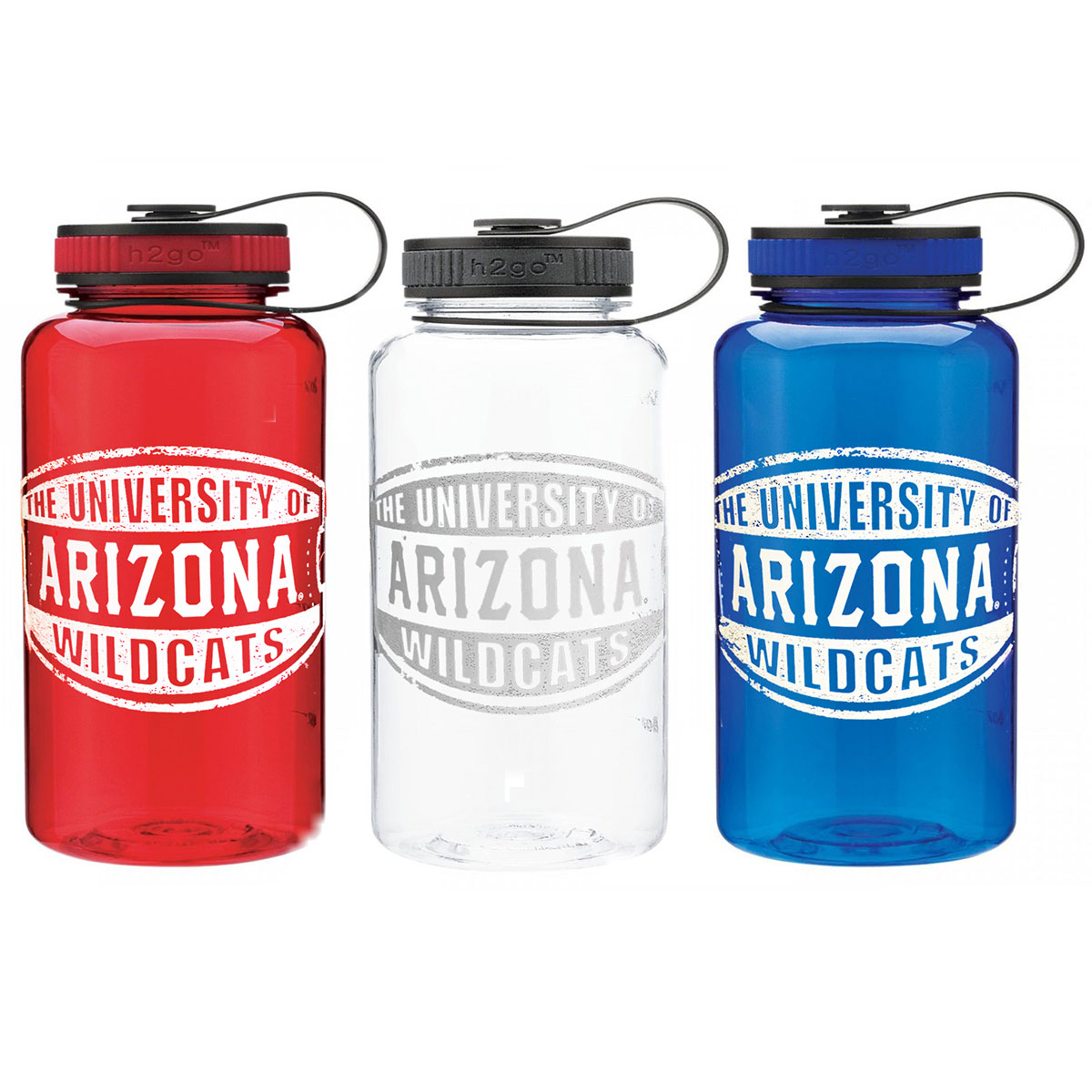 Image For H2GO: The University of Arizona Wildcats Wide Mouth Bottle