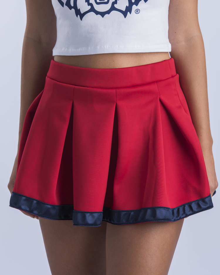 Image For Hype & Vice: Arizona Cheerleader Tailgate Skirt - Red