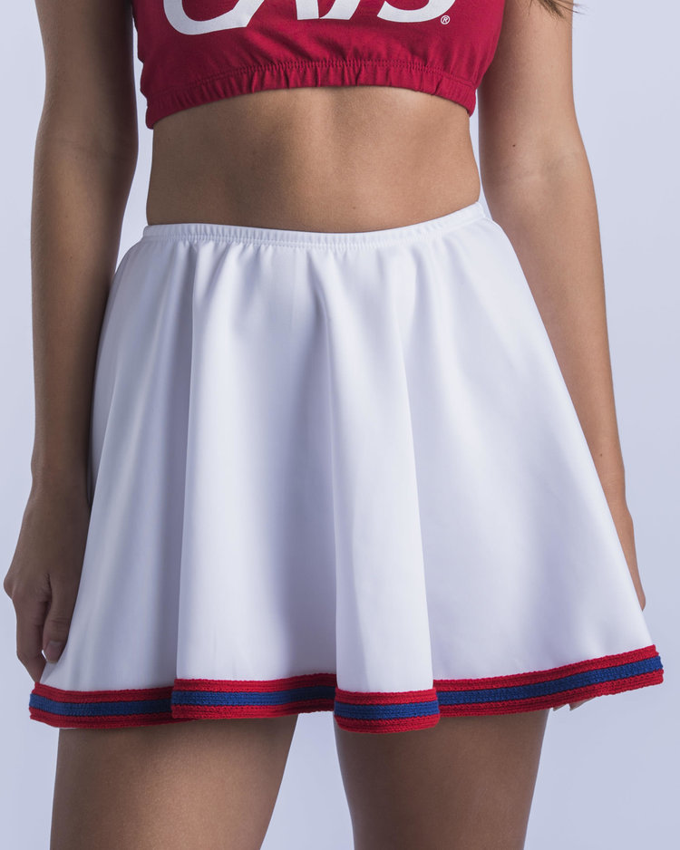 Image For Hype & Vice: Arizona Arizona Classic Gameday Skirt White
