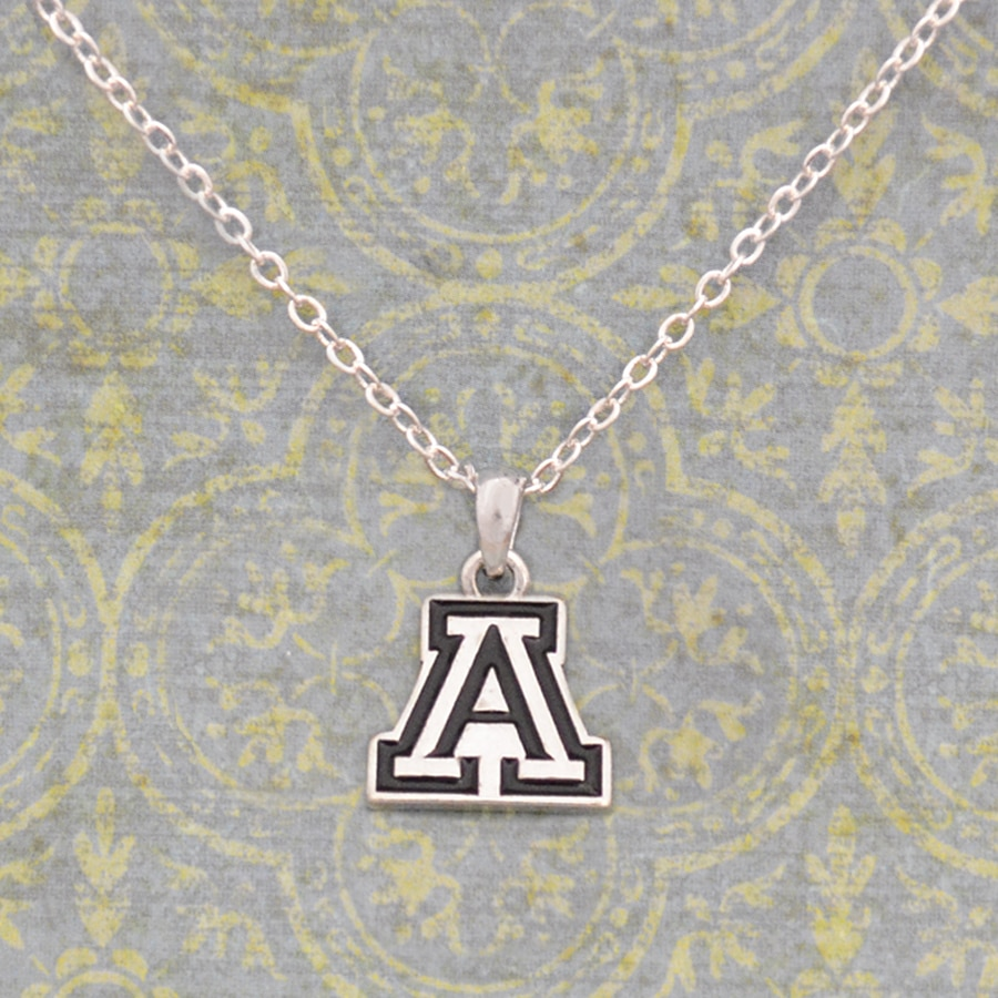Image For HJC: Arizona Wildcats Antiqued Logo Necklace