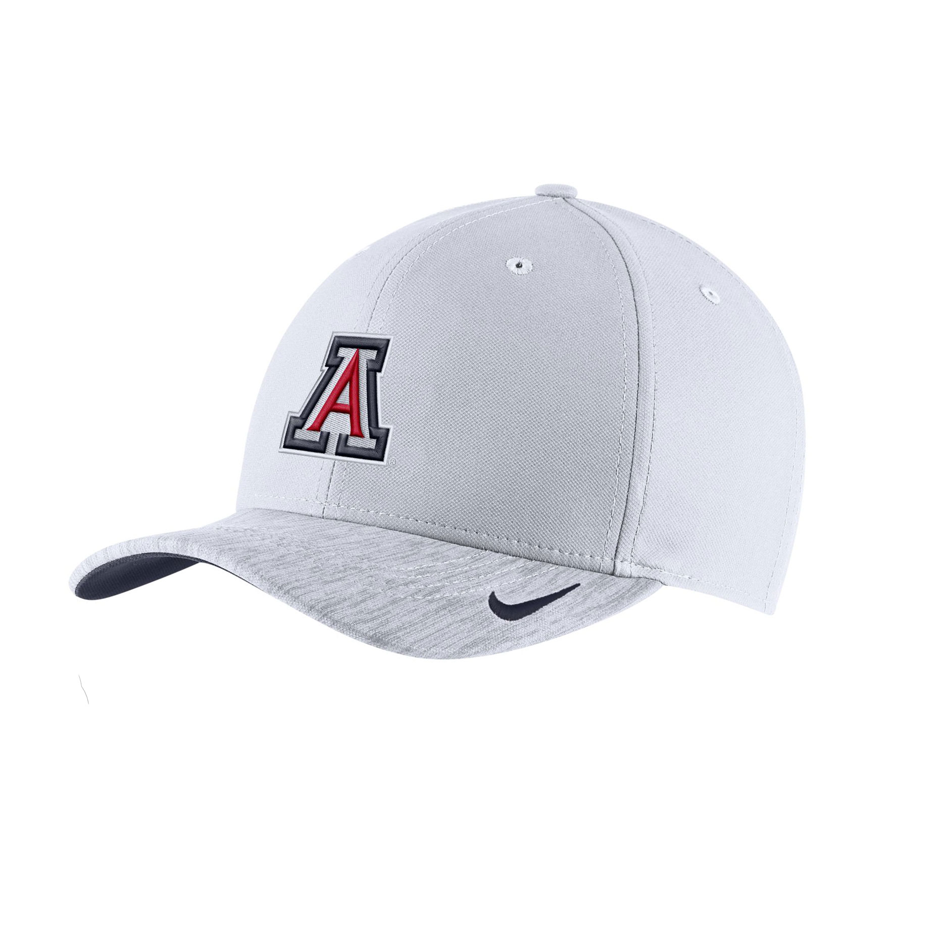 Image For Nike: Arizona Sideline Aero Coaches Cap YOUTH - White