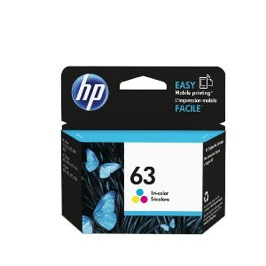 Image For HP 63 Tri Color Original Ink Cartridge