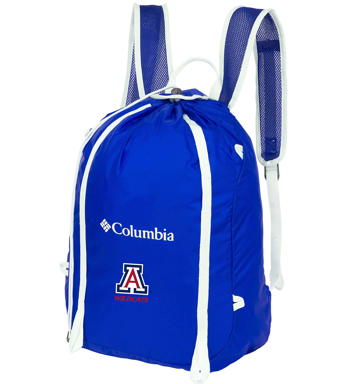 Image For Columbia: Arizona Wildcats Silver Falls Cinch Pack-Azul