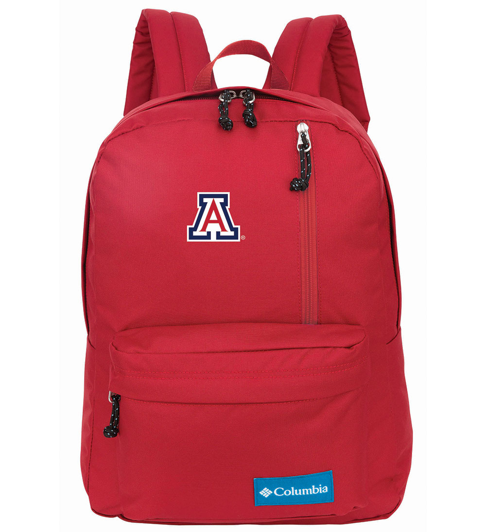 Image For Colubmia: Arizona Logo Sun Pass Daypack - Red Velvet