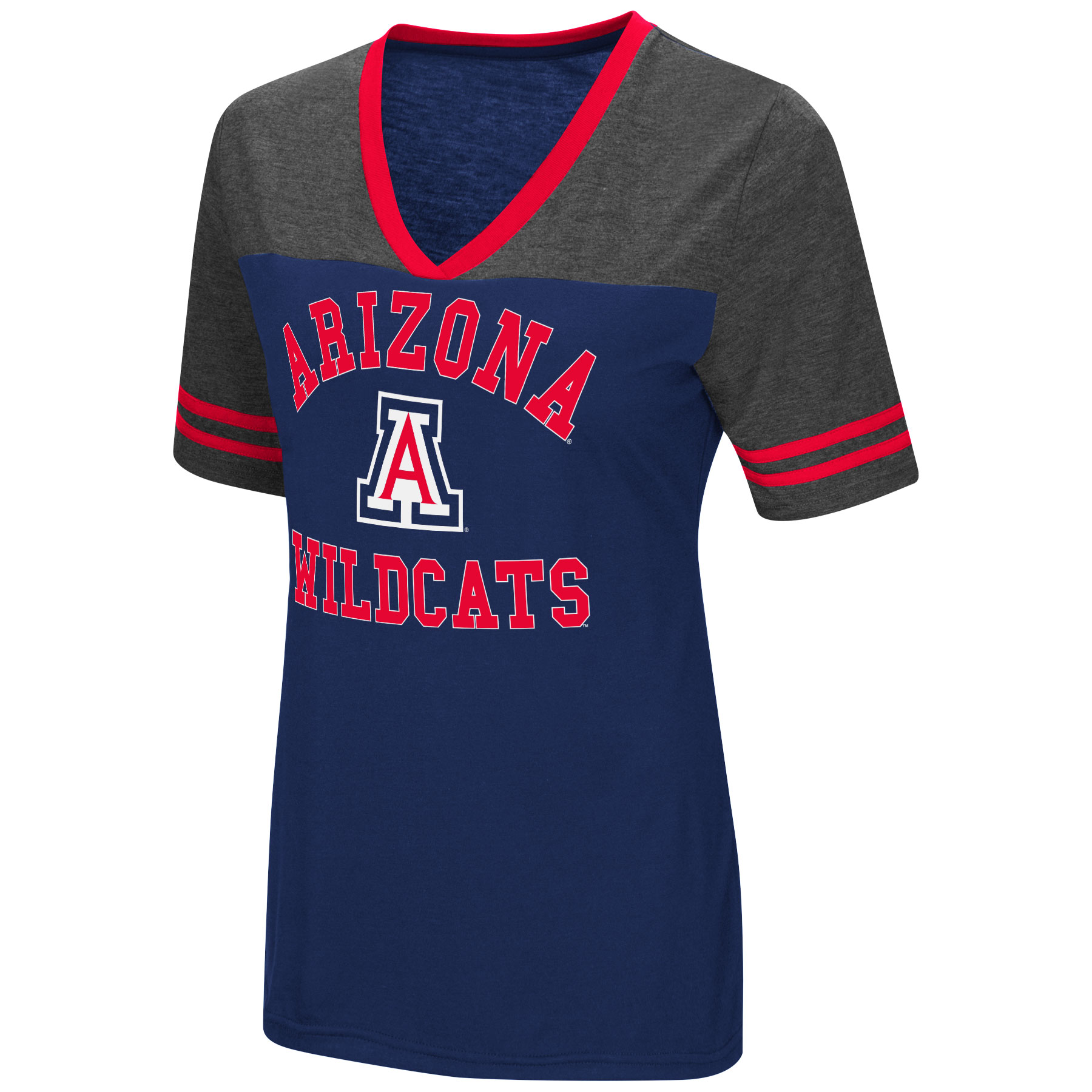 Image For Colosseum: Arizona Wildcats The Whole Package Jersey V-Neck