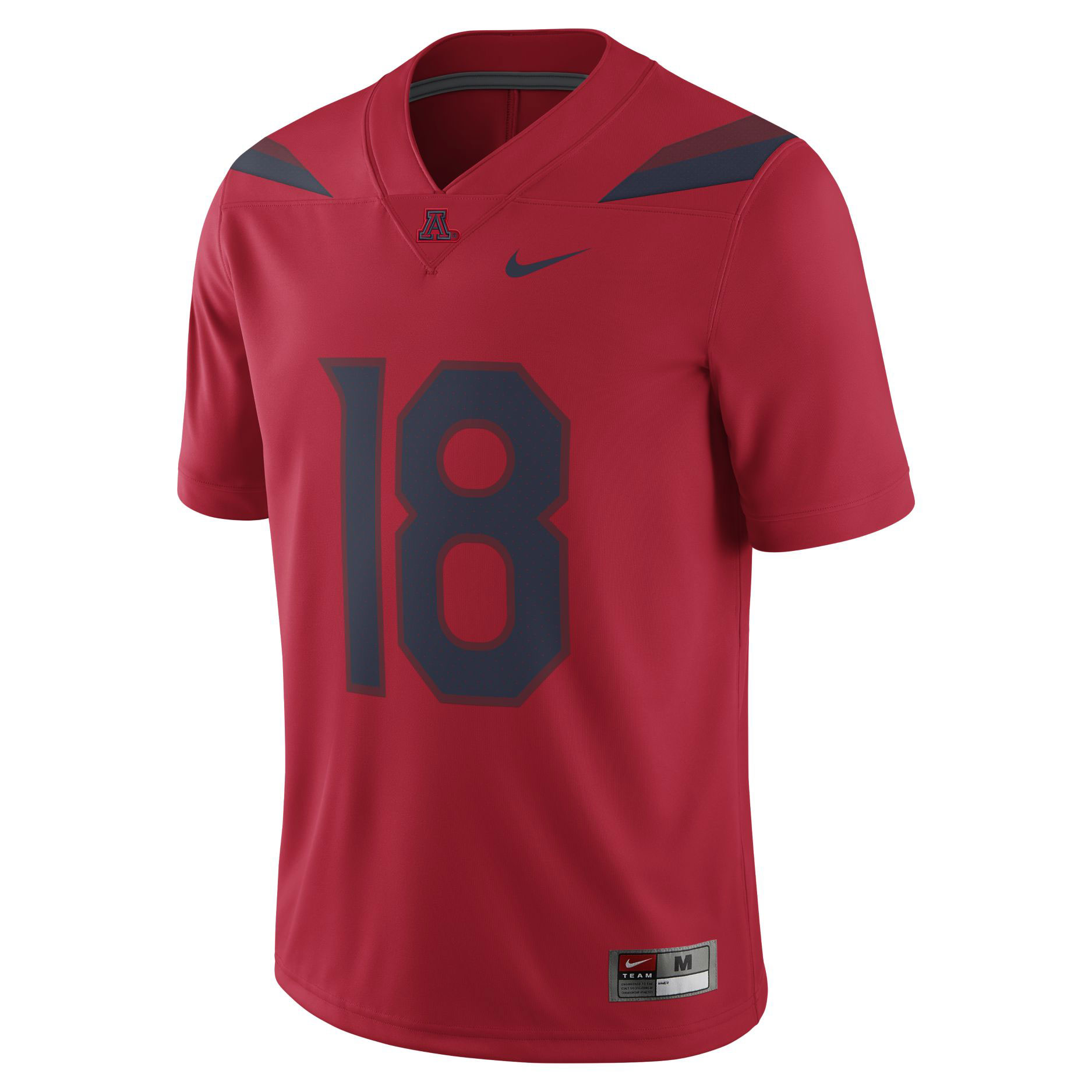 Image For Nike: Arizona Wildcats #18 Game Football Jersey