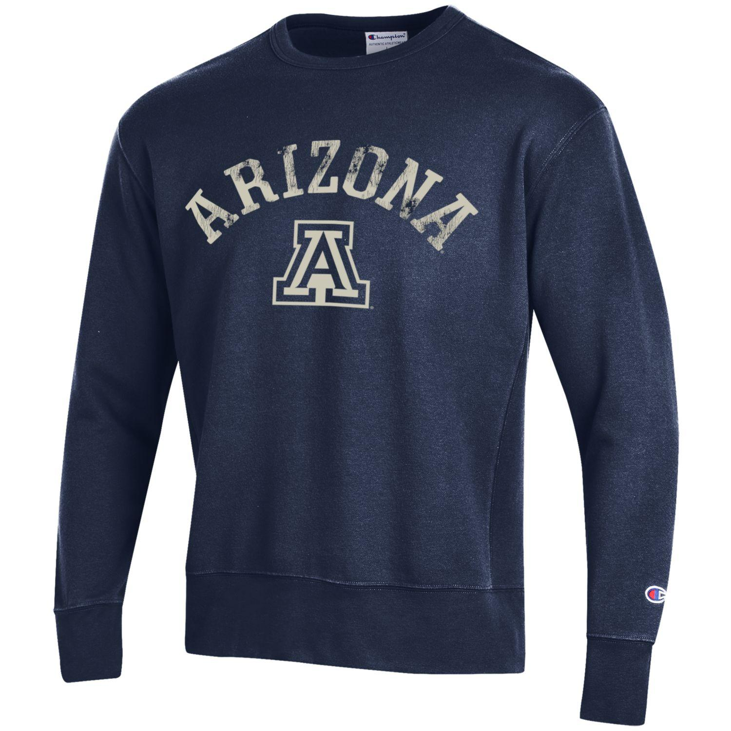 Image For Champion: Arizona Arch Rochester Fleece Crew-Navy