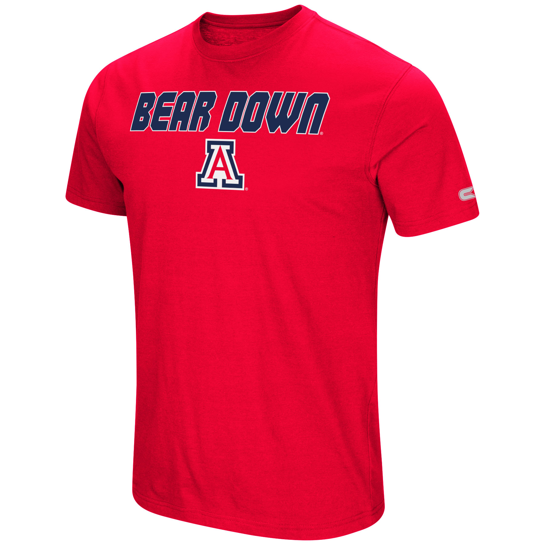 Image For Colosseum: Arizona Wildcats Water Boy Men's Dual Blend Tee