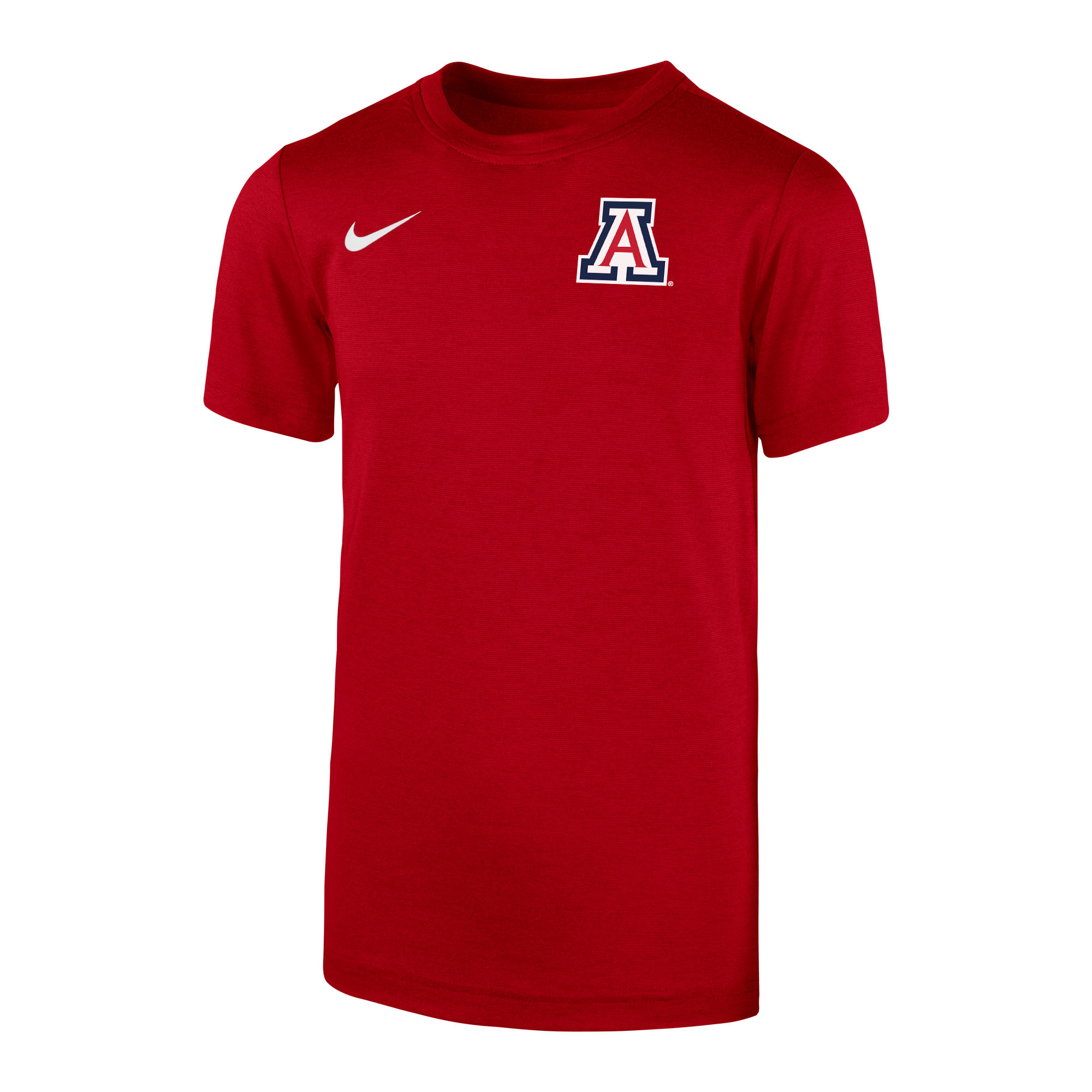 Image For Nike: Arizona Youth Short Sleeve Coach Tee - Red