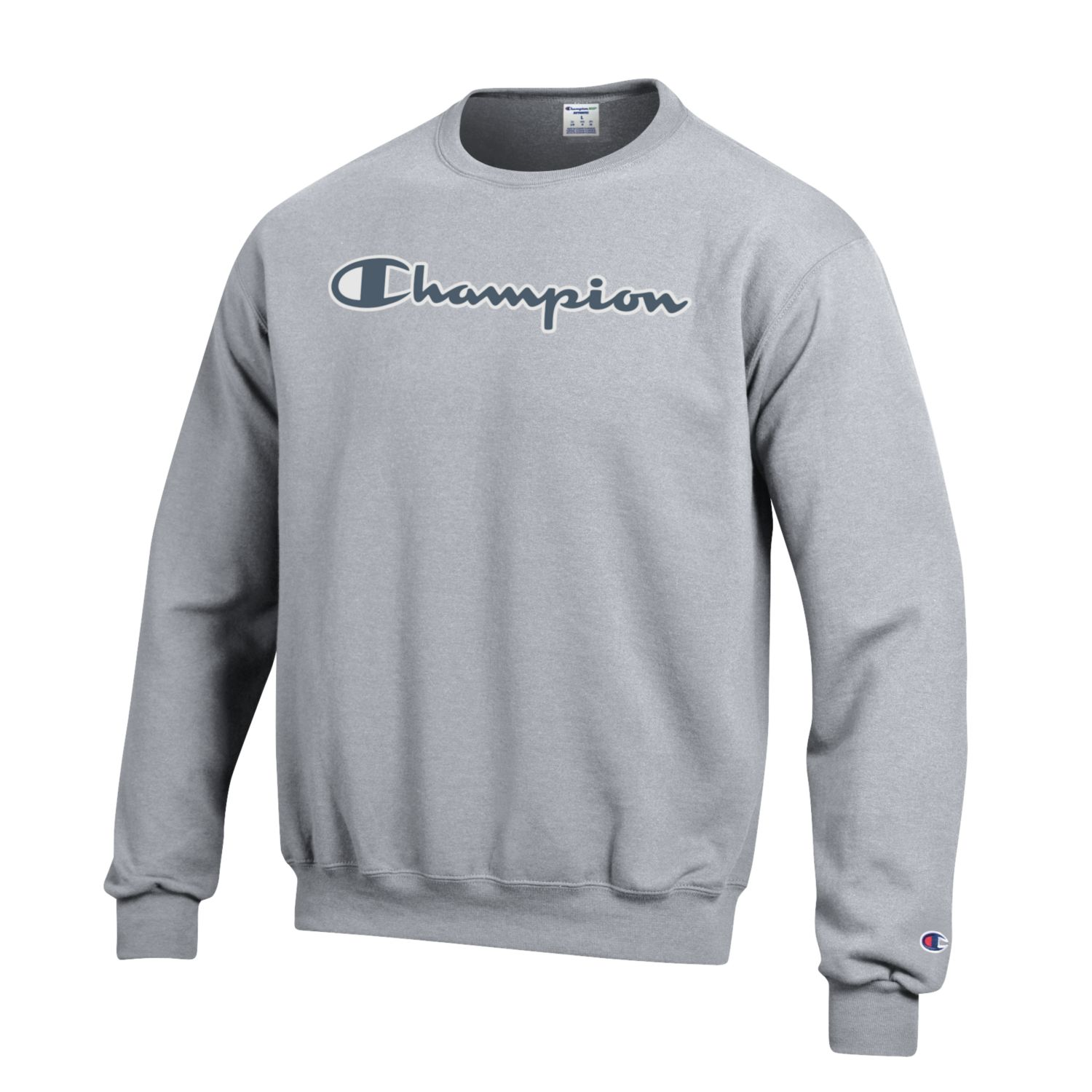 3da6618ae Champion: Eco Powerblend Crew - Heather Grey