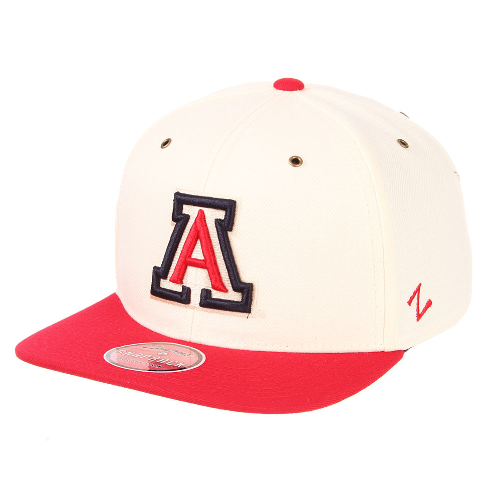Image For Zephyr: Arizona Cache Snapback Flat Bill Hat