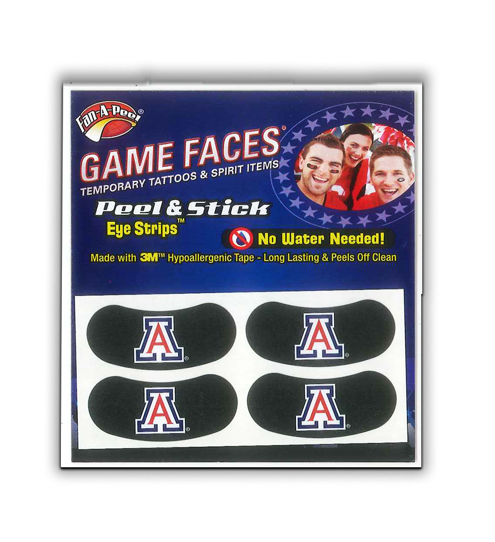 Image For Fan-A-Peel: Arizona  Waterless Peel & Stick Eye Strips–4pcs