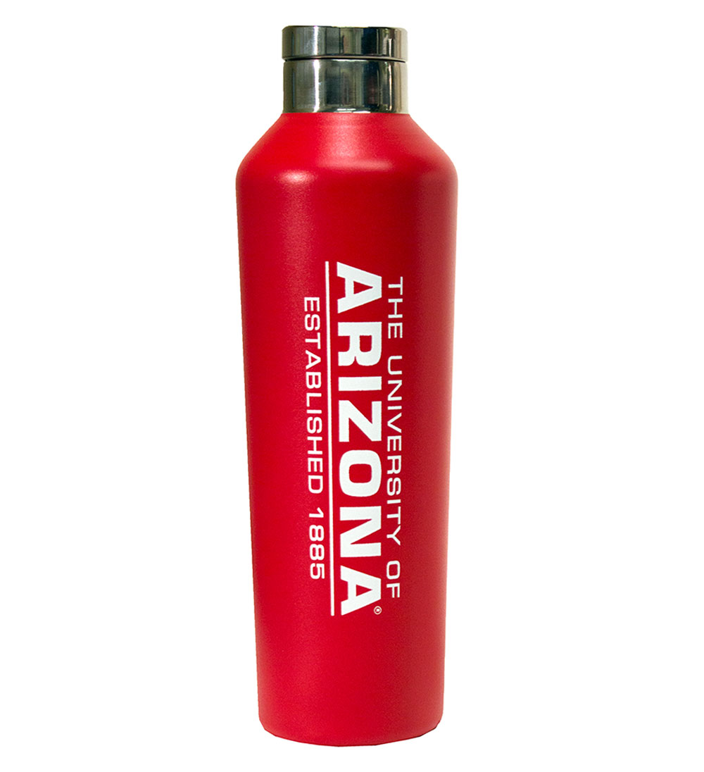 Cover Image For Arizona h2go 21 Ounce Valenica Red Bottle