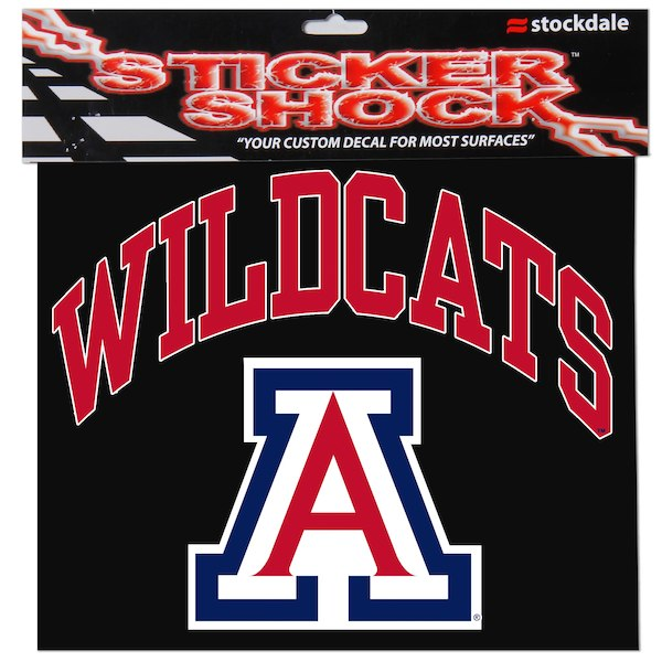 "Image For Decal: Arizona Wildcats 12"" x 12"" Arched Logo"